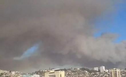#IncendioValparaiso