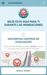 Waze-Inundaciones