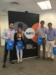 Ganadores CEO Challenge Daniel Coca, Fabiana Bevilacqua, Gustavo Jeanneret, Rodrigo Ramos