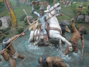 Batalla de Tucapel, la muerte de Pedro de Valdivia