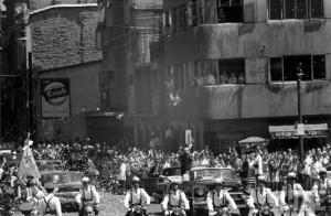 Eisenhower en Santiago de Chile, año 1960