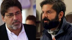 Daniel Jadue (PCCh) y Gabriel Boric (FA), precandidatos de la izquierda